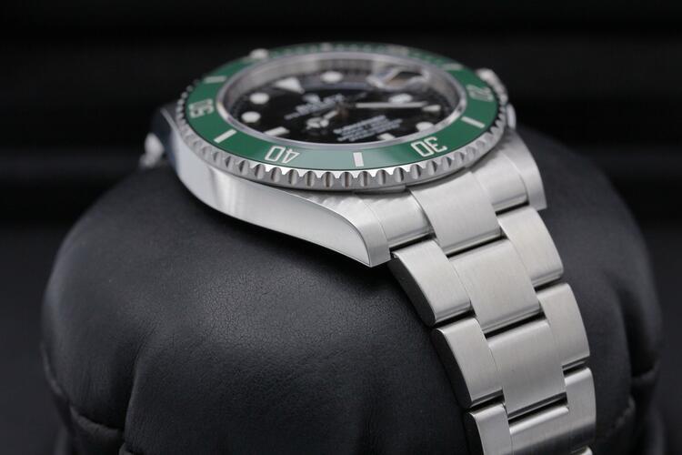 Rolex Submariner Kermit lunetta verde