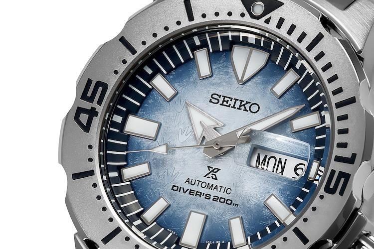 Seiko Prospex Antarctica Monster 'Save the Ocean'