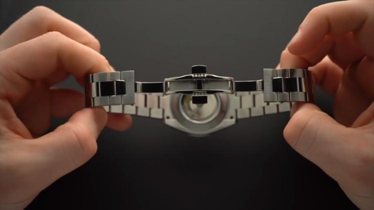 Tissot orologio uomo Gentleman Powermatic 80 Silicium 40mm