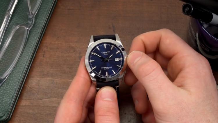 Tissot Gentleman Powermatic 80 Silicium Blu