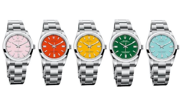 Nuovi colori 2020 Colori Rolex Oyster perpetual 41