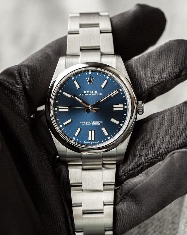 Rolex Oyster Perpetual 41 mm opinioni