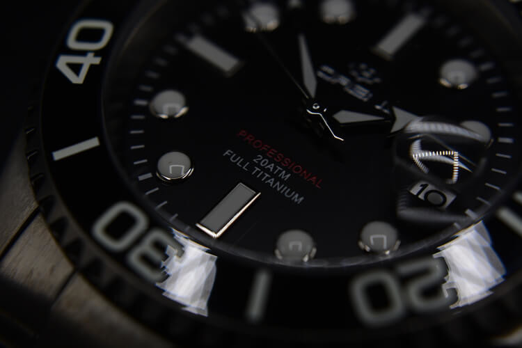 Movimento Lorenz Titanium nero