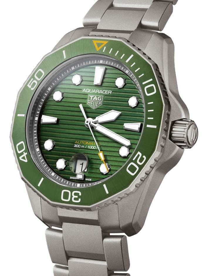 TAG Heuer Aquaracer 43 m Verde