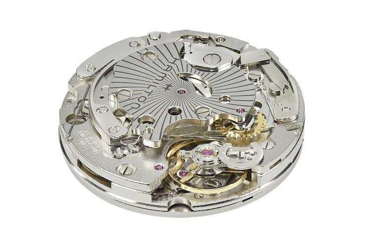 calibro cronografico Hamilton H-51