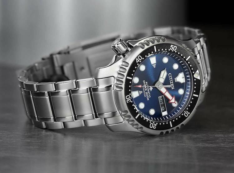 Diver's Automatic 200 mt Super Titanio NY0100-50M