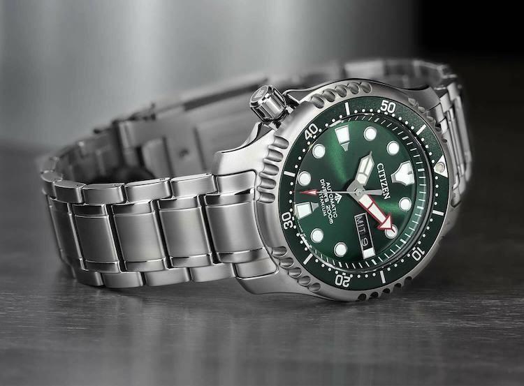 Diver's Automatic 200 mt Super Titanio NY0100-50X