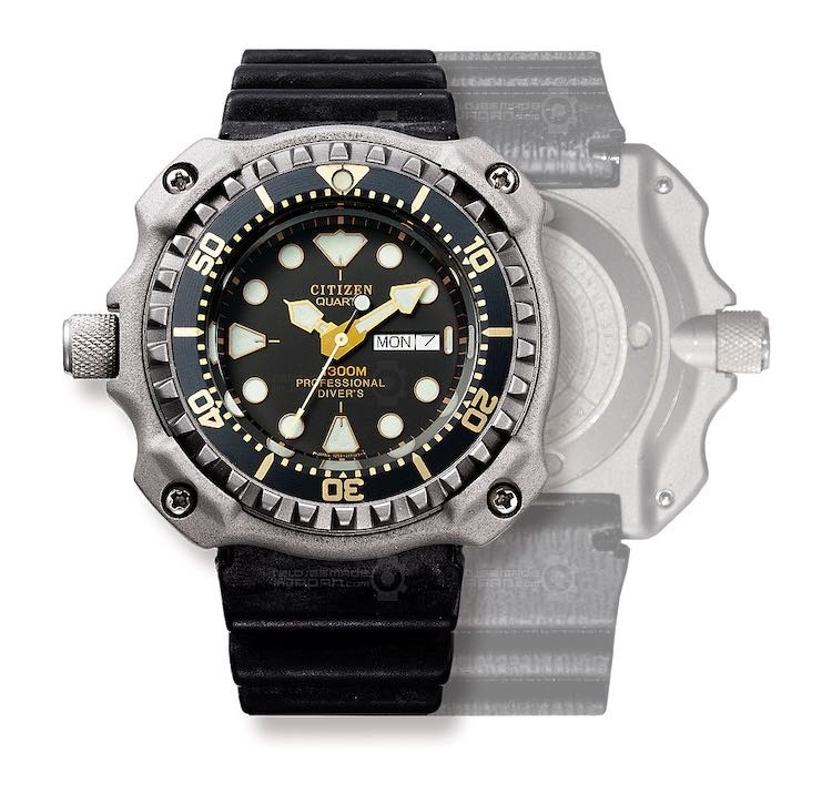 Citizen Professional Diver 1300m del 1982