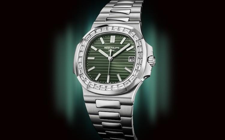 Nautilus Ref. 5711/1300A-001 Acciaio e diamanti