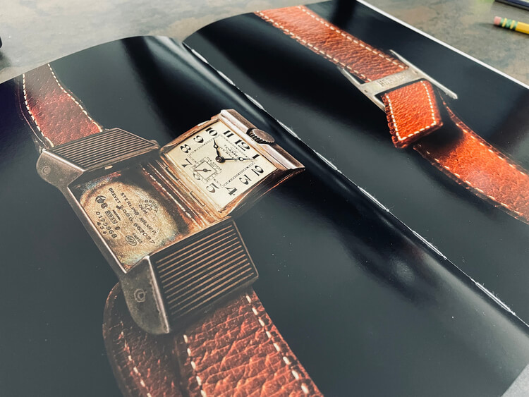 Un uomo e il suo orologio. Ediz. illustrata Copertina rigida