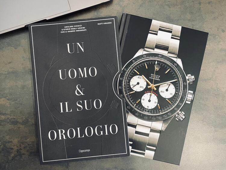 Un uomo e il suo orologio