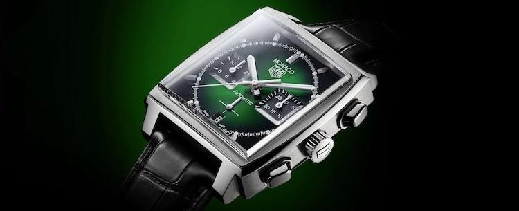 Tag Heuer Monaco Green Dial 39mm
