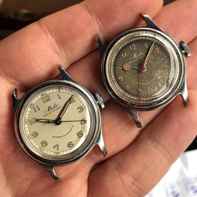 orologi mido multifort vintage